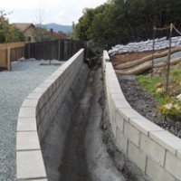 Retaining Wall After in Poway