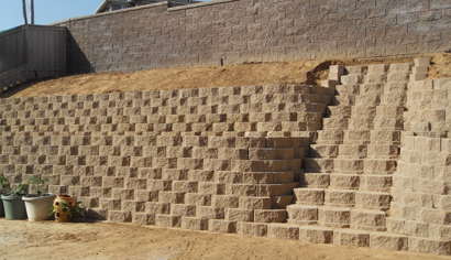 Chula Vista Retaining Wall After