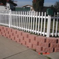 Retaining Wall After in Oceanside