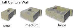 Keystone Half Century Wall