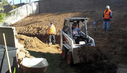Chula Vista Retaining Wall After